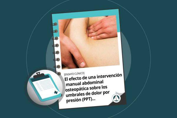 manipulación osteopática en mujeres con estreñimiento