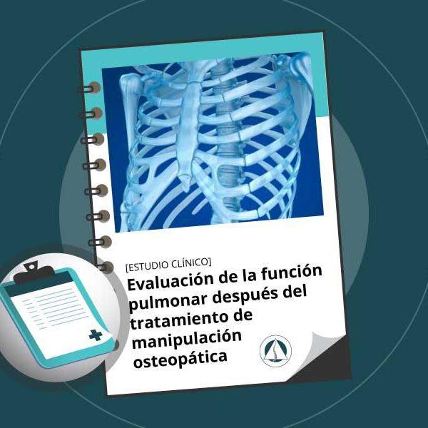Evaluación de la función pulmonar después del tratamiento de manipulación osteopática