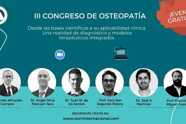 III Congreso de Osteopatia