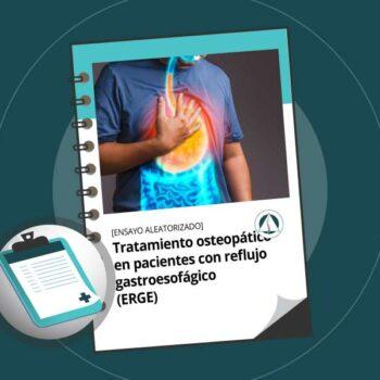 Tratamiento osteopático en pacientes con reflujo gastroesofágico (ERGE)